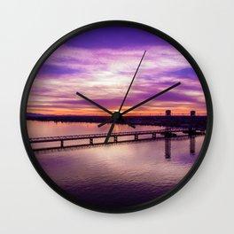 Marmalade Sky Wall Clock