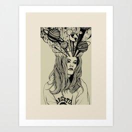 An Internal Universe Art Print