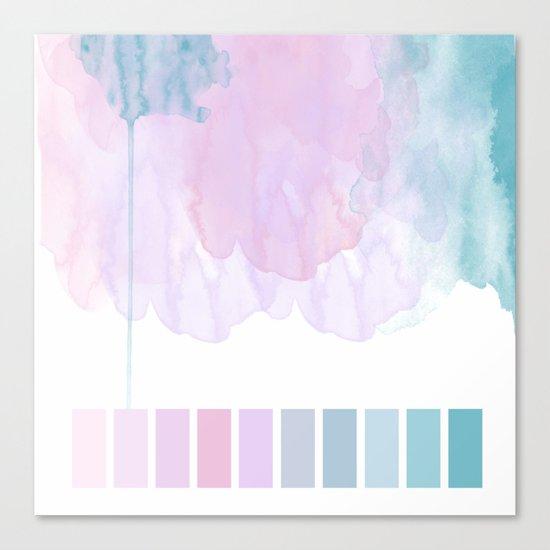 Aquarela Canvas Print
