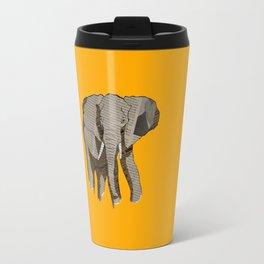 Newspaper Elephant Travel Mug