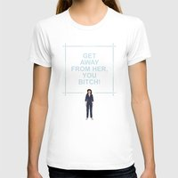 ripley T-shirts featuring Alien - Ellen Ripley Quote by V.L4B