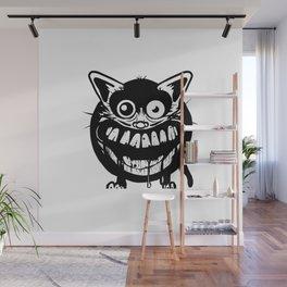 cat scratch fever Wall Mural