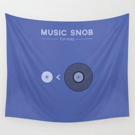 "NOT ""The New Vinyl"" — Music Snob Tip #082 Wall Tapestry"