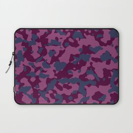 Berry Pretty Camouflage Laptop Sleeve