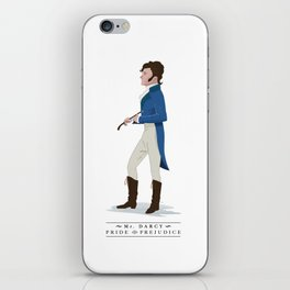 Mr. Darcy iPhone Skin
