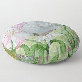 Fairy Garden#1 Floor Pillow