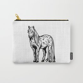 Appaloosa Horse Riding Present Carry-All Pouch