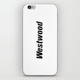 Westwood iPhone Skin