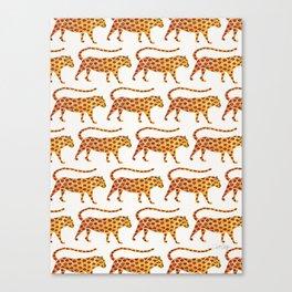Jaguar Pattern Canvas Print