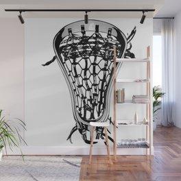 Lacrosse Nuff Said Wall Mural