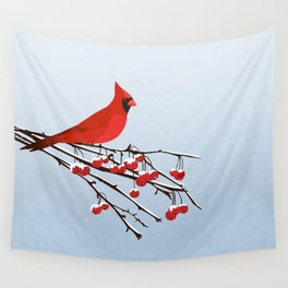 AFE Red Cardinal Wall Tapestry