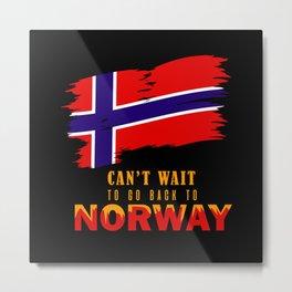 Norway, Norway Trondheim, Norway North Cape Metal Print