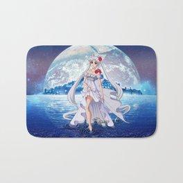 Sailor Moon Crystal Princess Serenity SILVER HAIR Bath Mat