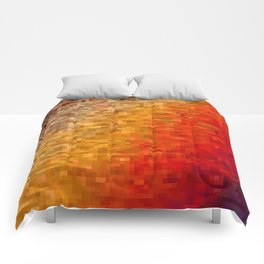 the square field of me Comforters
