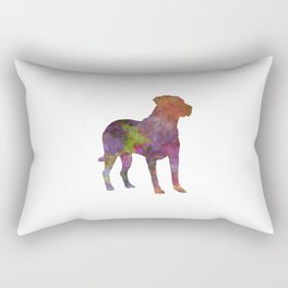 Uruguayan Cimarron in watercolor Rectangular Pillow