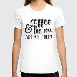 mermaid motto T-shirt