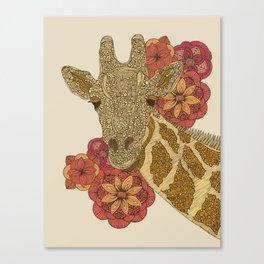 Girafe Canvas Print