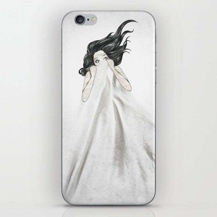 White As A Sheet iPhone Skin