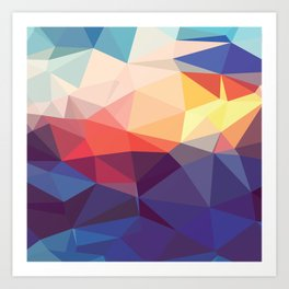 Prism Power #3 Art Print