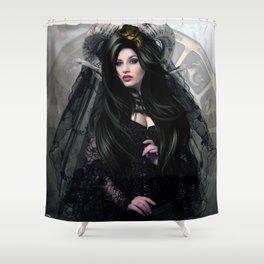 CAPRICORN BRIDE Shower Curtain