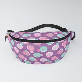 Positive Voice Affirmation Pattern Fanny Pack