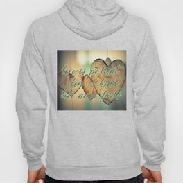 Romantic Wood Hearts Rustic Love Quote Bible Verse Hoody