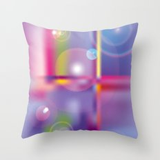 Frosted Glass  Throw Pillow
