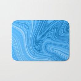 Blue Marbled Agate Bath Mat