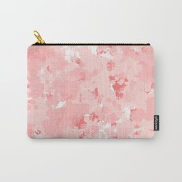 Grace - watercolor modern minimal abstract painting pink pastel office decor Carry-All Pouch