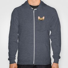 Pocket French Bulldog - Fawn Hoody