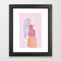 Dreamboat Annie Framed Art Print