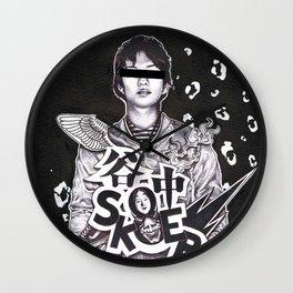 YANAKA-skaterboy Wall Clock