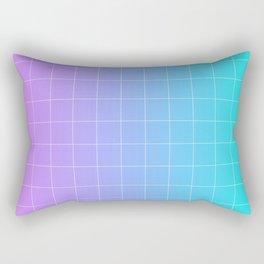 Vaporwave Gradient Rectangular Pillow