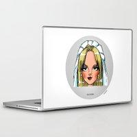 lesbian Laptop & iPad Skins featuring Britney Cartoon: Like A Lesbian by Eduardo Sanches Morelli