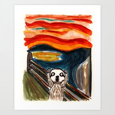 Sloth's Scream  Art Print