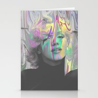 monroe Stationery Cards featuring Monroe by Calepotts