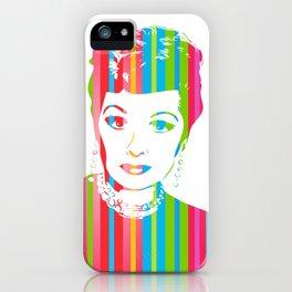 Lucille Ball | Pop Art iPhone Case