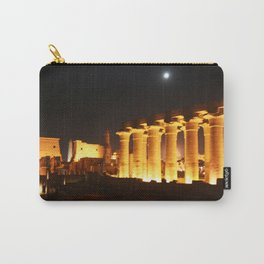 The night and the moon at Temple of Luxor, no. 29 Carry-All Pouch