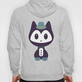 Cute kitten in formal clothes Hoody