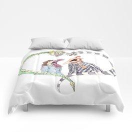 Beetle juice - Adam & Barbara Comforters