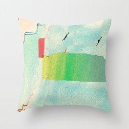 Varicose Chloroplast Throw Pillow