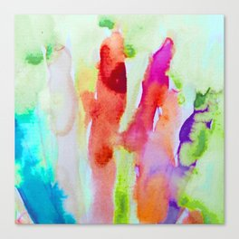Abstract Blurs Canvas Print