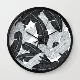 BANANA LEAVES 5 Wall Clock