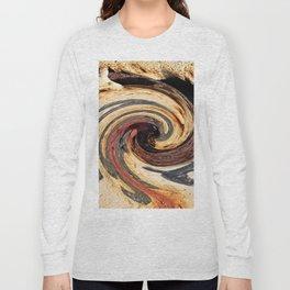 Swirl 07 - Colors of Rust / RostArt Long Sleeve T-shirt