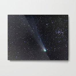 Comet Metal Print