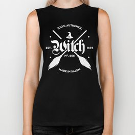 100% Authentic Witch Biker Tank