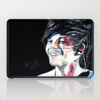 louis tomlinson iPad Cases featuring Louis Tomlinson by Mimirainb0w