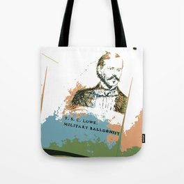 T. S. C. Lowe - Military Baloonist Tote Bag