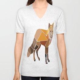 Night Fox Unisex V-Neck