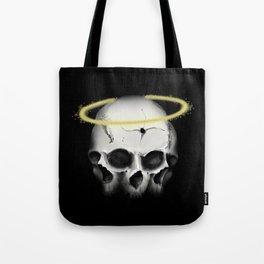 3 Faced skull 2 Tote Bag